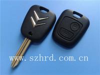 free shipping car key citroen 2 buttons remote key shell X type