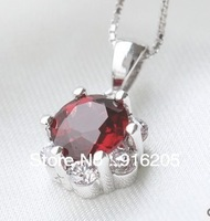 Min.order is $ 19 (mix order) Free shipping Natural garnet amethyst pendant necklace