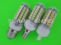 LED Lamp 5050 69 LED Lamp 12W G10 LED Corn Bulb 1100LM Cold white / Warm White 360 Degree Light Bulb Lamp Energy Saving
