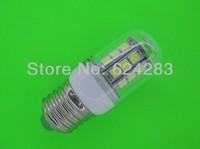 E27 5.5W 3000-6500K 480-Lumen 30LED 5050 SMD LED Warm White, White Light Bulb  110V-220V