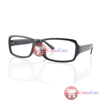 [Coins Cart] New Unisex Fashion Black Frame Eyeglasses Glasses Without Lens wholesale