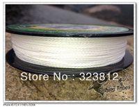 Wholesale - 100mFISHING TRIBES100%PE 8lb----80LB white dyneema braided fishing line free shipping