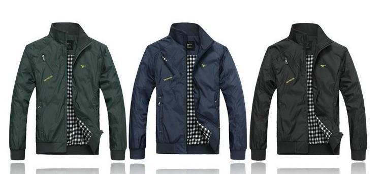 2014 outono inverno nova grife septwolves jaqueta casaco coreano colarinho outerwear roupas masculinas plus size casaco casuais(China (Mainland))
