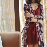 Ms emulation silk scarf, cotton and linen scarf shawl scarf(minimum order value $10)