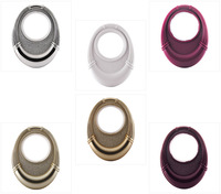 European New fashion Cat's eye Art circles Top grade 6 colors large Nano mute roman rings buckle grommets eyelets for curtains