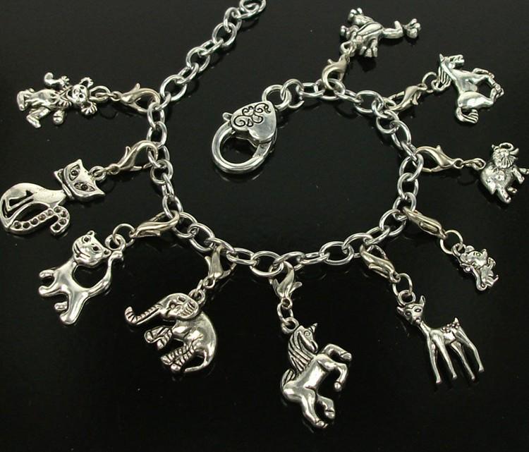 Deer Charm Bracelet Deer Charms Bracelet Free
