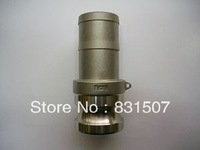 """E type 1/2"""" DN15 SS304 camlock quick couplings"""