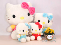 free shipping hot selling 30cm Hello Kitty Plush Toy ,pink/red,/blue , Christmas gift, best gift,