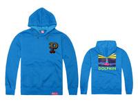 Pink dolphin Hoodies style mens autumn winter high fashion brand Hoodies fleece print pullover sportswear sweatshirt