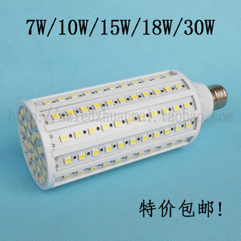 High brightness 7w10w15w18w30w led corn light led energy saving bulb home lighting lamp