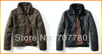 Free Shipping High Quality Brand Casual Stylish Men's Jacket Winter Coat Size Available M / XXL Black / Brown (SI025) !!