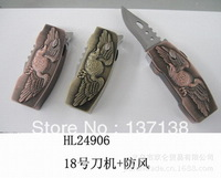 Free shipping 2014 New Hot Fashion Skull Model Knife Windproof Lighter Personalized Gas Torch Lighter Novelty Gifts