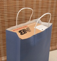 shoes packing bag,shopping bag,kraft paper pack bag,large size 33*25*12cm,12pcs 12color/lo