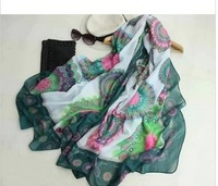 2013 New Spain desigual retro style oversized scarves family name
