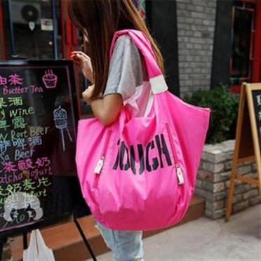 2013 new designer sports type women's nylon bag large capacity multicolour beach bag ladies shoulder bag big hobo messenger bag(China (Mainland))