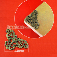 Butterfly corner decoration hardware archaize greco-roman Angle box wine box Angle of four corner corner
