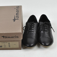 Full 2013 tamaris shoes genuine leather sheepskin lacing punching fashion comfortable flat single shoes