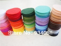 Set of 1000pcs Multi Colors 20mm Felt Circles for Sewing Works Felt Packs Wholesale Free Shipping