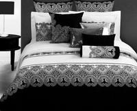 Black White Retro Printed bedding sets queen king size 4pcs cotton quilt/duvet cover bed linen bedclothes bedsheet home textile