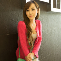 Formal 2013 autumn cardigan female sweater ice cream sweater cardigan female women's