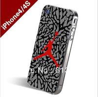 iPhoneS4 4sPainted phone shell protective sleeve 23 Jordan inkjet protective sleeve