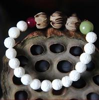 Tridacna bracelet bodhi sculpture lotus bracelet female elegant fresh fashion jewelry