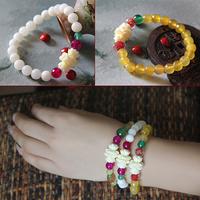 New arrival elegant agate prabhutaratna bracelet female gift