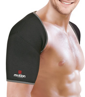 Free Shipping Sports Guard  Double Black Shoulder Support Brace Posture Gym Sport Injury Guard Back Pad