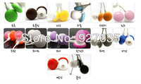 Lowest headphones, color headphones, candy chocolate doug headphones,Wholesale100pcs/lot