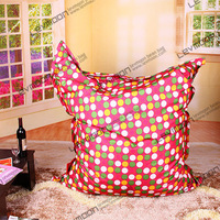 FREE SHIPPING colorful dot bean bag cover water proof bean bag cover baby POLYESTER bean bag chair 140*180cm bean bag bird