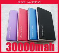 20PCS Big Capacity Double USB 30000mAh Power Bank Portable Backup External Battery Pack For phone Table PC Galaxy