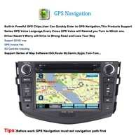 Car DVD for Toyota RAV 4 with GPS Bluetooth Phonebook USB SD Steering Wheel Control