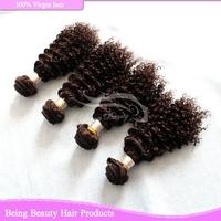 unprocessed human hair 4 bundles virgin hair malaysian weave hair kinky curly virgin hair weft 14inch-26inch free shipping