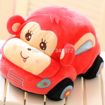 Dora cartoon car plush toy doll toy car plush pillow birthday gift