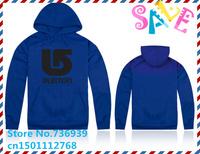 Online Stock Brand Burton Cheap Free Shipping  High-quality cotton plus velvet thick sweatshirt