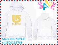 Online Stock Brand Burton Cheap Free Shipping Man Men Winter Hoodies Fashion Hoody Hoodies Man 2014 Hooded Men Fashion Hoody