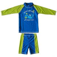 Spa hot spring child swimwear sun protection UPF 50+ kid's swimsuit diving dress Anti UV long-sleeved surfing suit swimwear boys