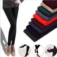 Legging autumn female winter trousers grey pull maoku stockings