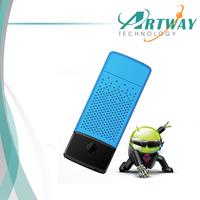Free Shipping Mini PC Android 4.2 TV Stick Quad Core RK 3188 ARM Cortex-A9 1.8GHz 2GB/8GB WiFi Bluetooth 4.0 TV Dongle box