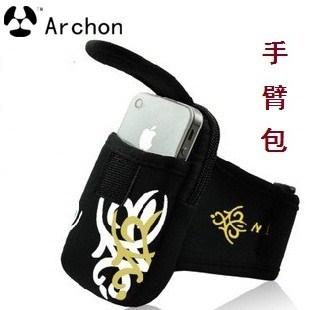 Outside sport arm package mobile phone armband bag wrist bag running arms package handbags waist pack arm package waterproof