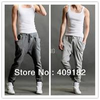 2014 New Women Men Casual Sporty Hip Hop Dance Harem Baggy Sport Pants Trousers T112