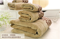 Leopard Wedding Face Towel 41*66cm Hand towel 28x46cm bath towel 64*127cm bathroom towel sets