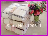 free shipping Bath towel soft big towel absorbent 100% cotton toalha hotel toalha beach thick bath towel