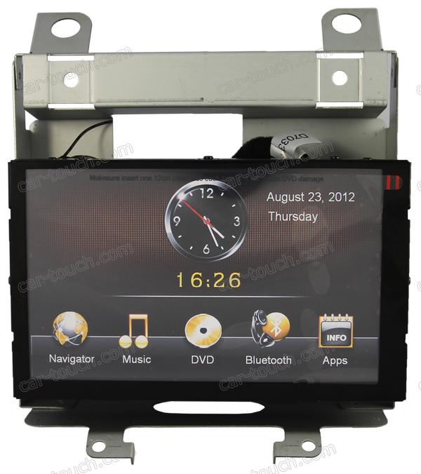 2 din dual dvd car audio video player + Bluetooth + Radio + iPod connectivity + USB port for Landrover Freelander 2(China (Mainland))