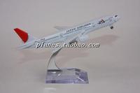Freeshipping Model b777-200 jal 16cm metal gift model Toys for children&boys&Kids