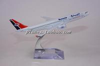 Freeshipping Hm a330 16cm yemenia metal model aircraft gift model