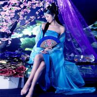 Classic costume fairy tang suit hanfu female dance princess costume