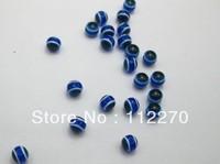 200PCS 6MM plastic eyes for toys DIY acrylic eyes string of eyes bule color
