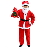 Christmas dress non-woven men's clothing child christmas clothes 3 - 12 100g