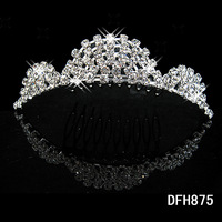 MIN.ORDER $15,wedding bride hearwear crown 11014